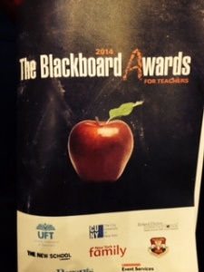 blackboard awards nyc
